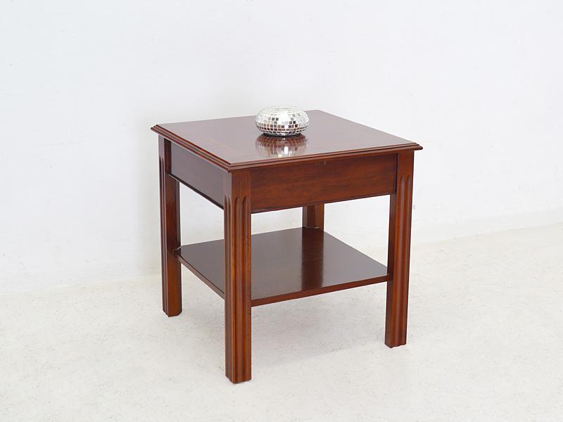 beistelltisch couchtisch wohnzimmertisch englischer stil mahagoni 6081 m bel tische beistelltische. Black Bedroom Furniture Sets. Home Design Ideas