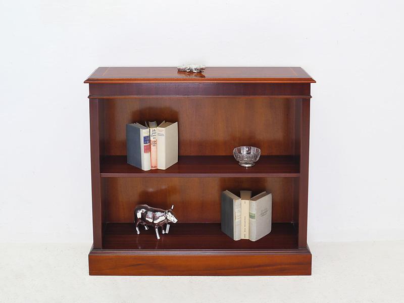 regal b cherregal b ro wandregal englischer stil in mahagoni 90x100x30 cm 6083 4260487277333. Black Bedroom Furniture Sets. Home Design Ideas