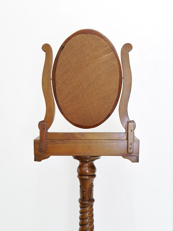 Rückseite des Spiegels