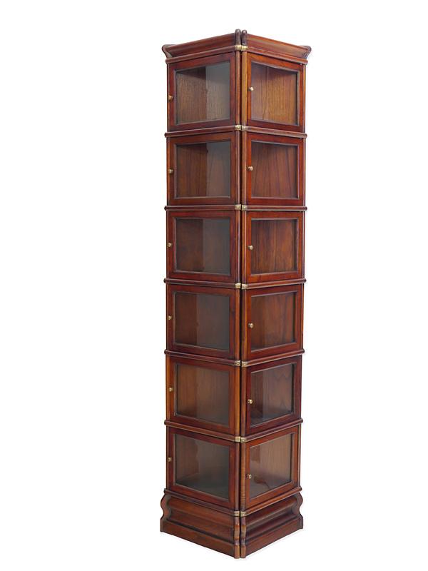 dreieck wandregal studio globe wernicke regalsystem aus mahagoni 6169 regale regalsysteme. Black Bedroom Furniture Sets. Home Design Ideas