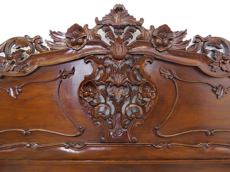 Detailaufnahme Rocaille Motiv