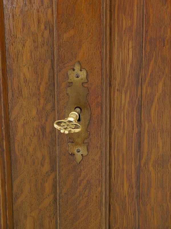 Detailansicht von dem Schlüssel
