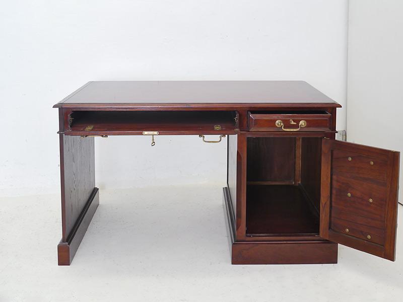 Schreibtisch Computerschreibtisch Studio Globe Wernicke Mahagoni