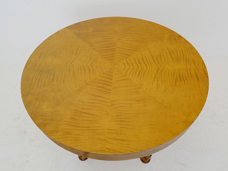 Detailaufnahme der Tischplatte