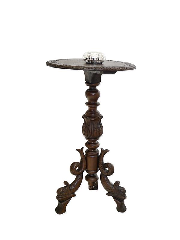 tisch beistelltisch telefontisch blumentisch gr nderzeit um 1880 eiche 6279 m bel tische. Black Bedroom Furniture Sets. Home Design Ideas