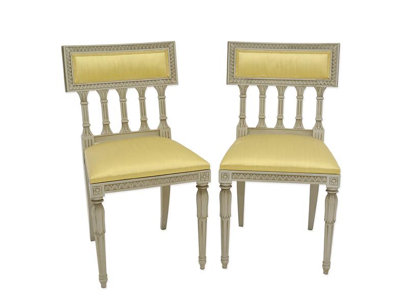 2 antike Stühle um 1930 im Louis Seize Stil