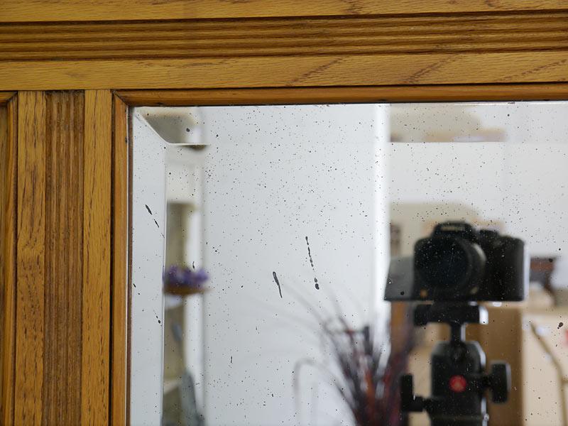 Detailansicht vom Spiegel