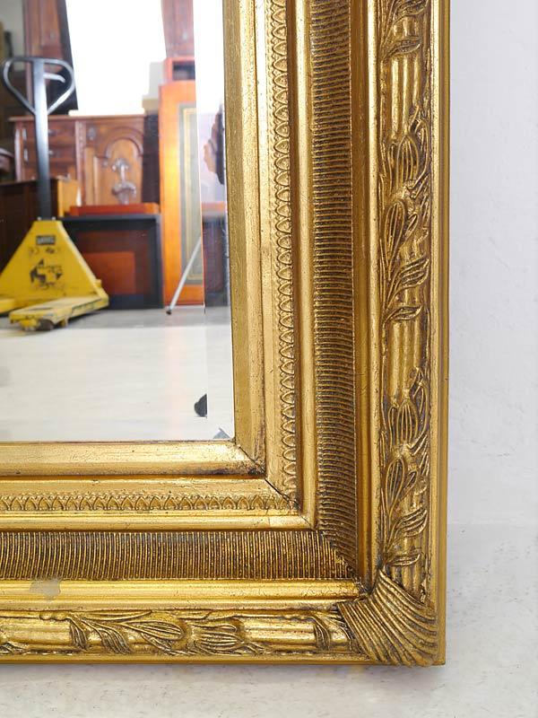 Spiegel Wandspiegel Garderobenspiegel Antiker Stil goldfarben ...