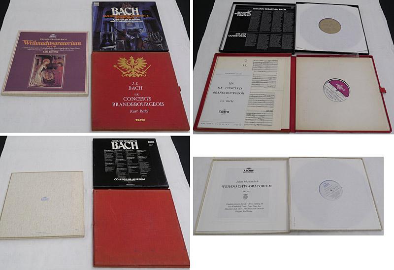 3 Boxen von Bach