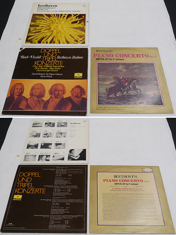 3 LPs Beethoven