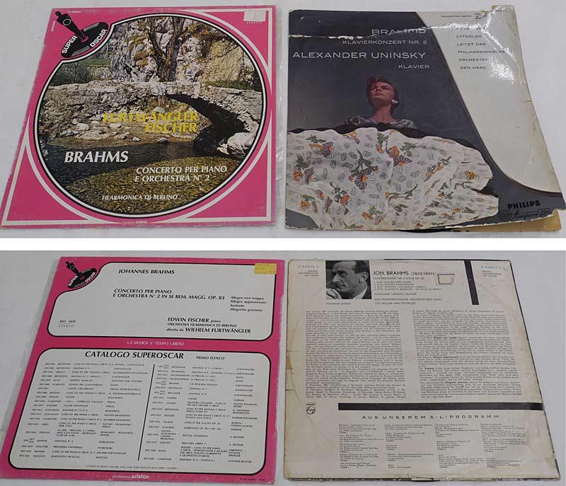 2 LPs Brahms