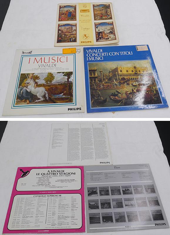 3 LPs Vivaldi