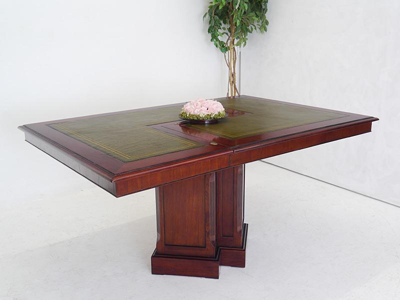 Konferenztisch aus Mahagoni