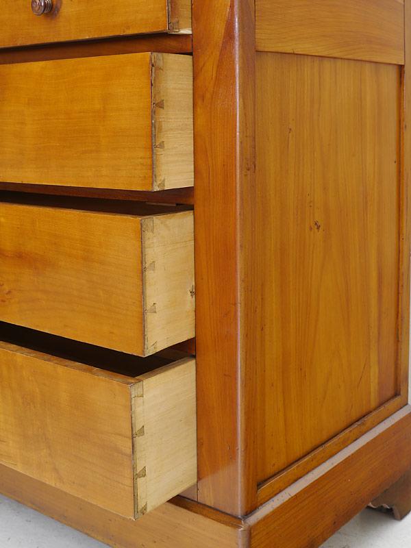 Spiegelkommode Frisierkommode Kommode mit Spiegel aus Kirschbaum massiv (6493)  eBay
