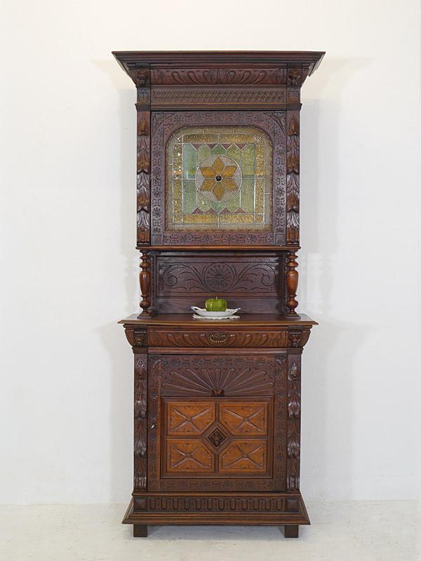 buffet schrank k chenschrank gr nderzeit um 1880 1 t rig eiche b 99 cm 6555 m bel schr nke. Black Bedroom Furniture Sets. Home Design Ideas
