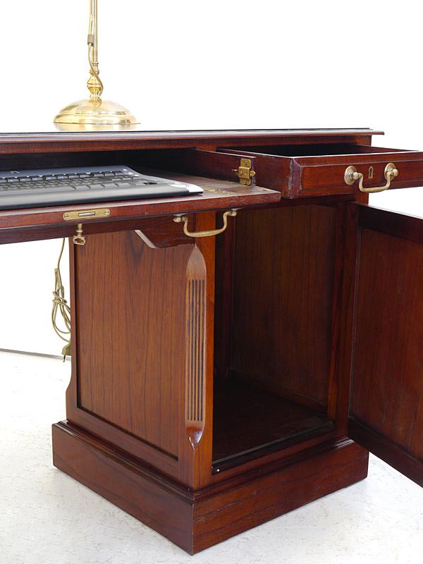 Schreibtisch computertisch studio globe wernicke antik for Aufklappbare schreibtische