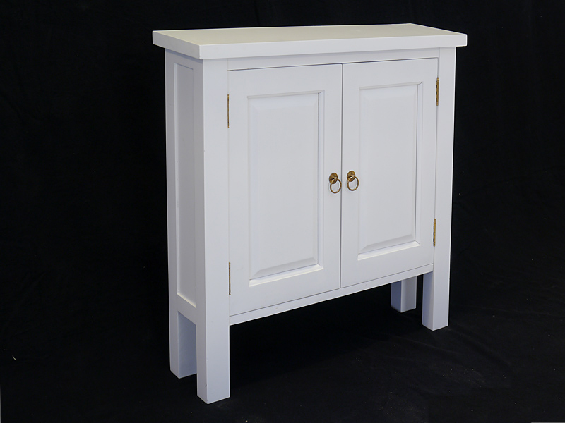 Wandtisch in weiß