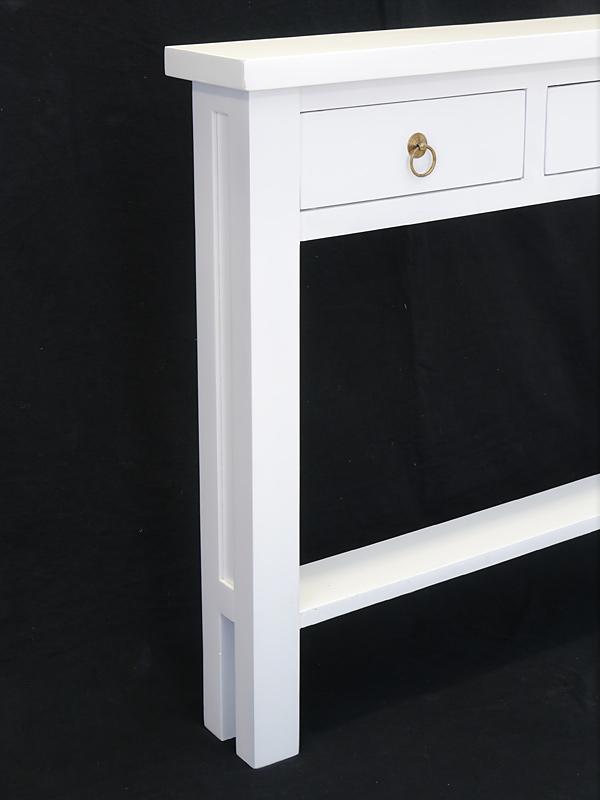 Wandtisch Wandkonsole Flurtisch Mit Geringe Tiefe Von 15 Cm In Weiss