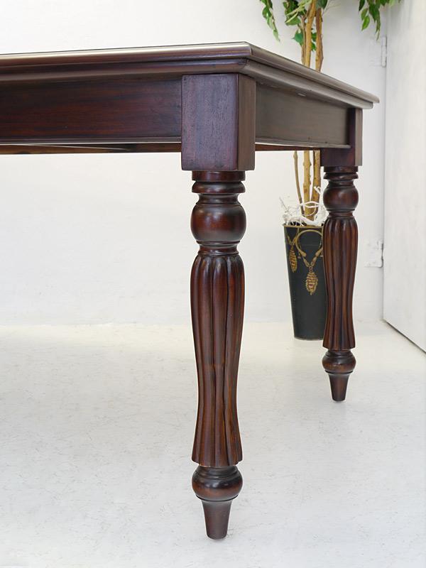tisch esstisch esszimmertisch antik stil massivholz 79x201x101 cm 6618 m bel tische esstische. Black Bedroom Furniture Sets. Home Design Ideas