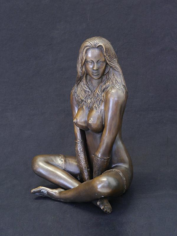 Erotisches Aktmodell