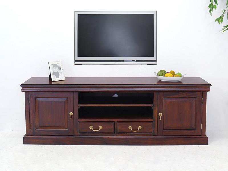 sideboard tv schrank medienschrank tv board antik stil teilmassiv l 180cm 6646 m bel kommoden. Black Bedroom Furniture Sets. Home Design Ideas
