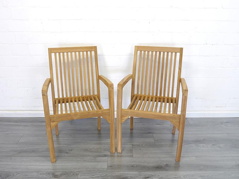 2er Set Gartenstühle