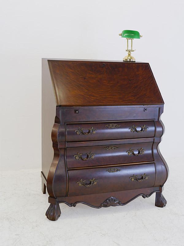 sekret r schreibsekret r schreibschrank neo barock stil um 1960 nussbaum 6706 m bel. Black Bedroom Furniture Sets. Home Design Ideas