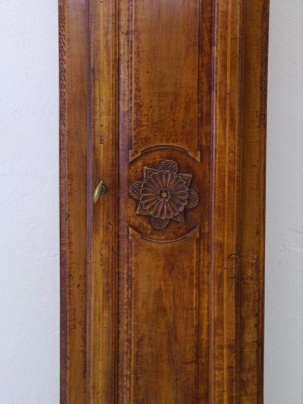 Detailansicht vom Uhrengehäuse
