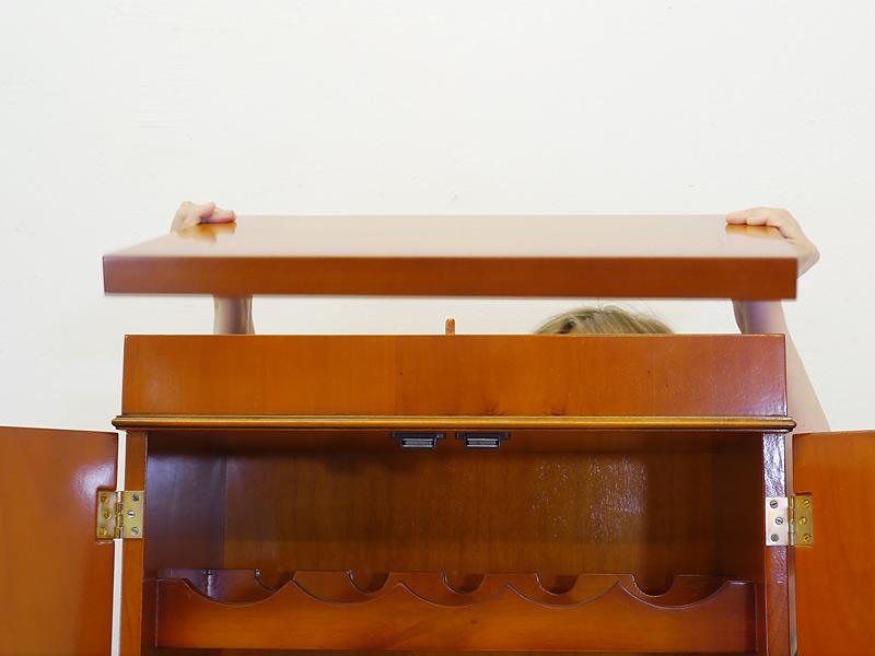 Abnehmbare Deckplatte (Geheimfach)