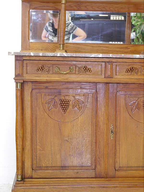 Schublade und Tür des Unterschrankes