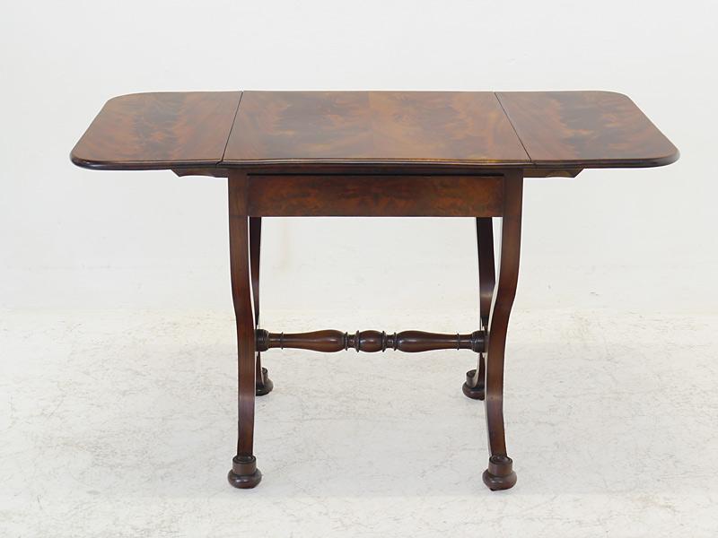 Rechteckige Tischplatte beidseitig ausklappbar