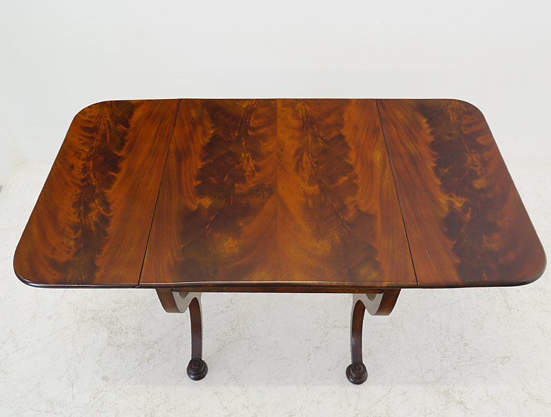 Detailansicht der Tischoberfläche