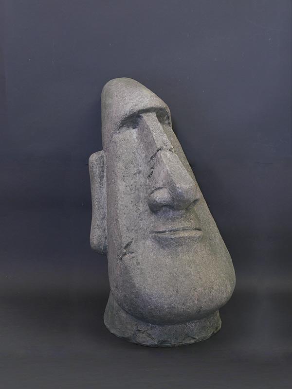 Moai Kopf aus Kunststoff
