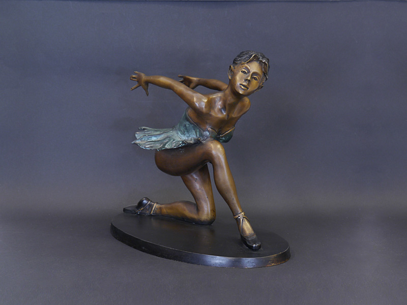 Tanzenden Ballerina