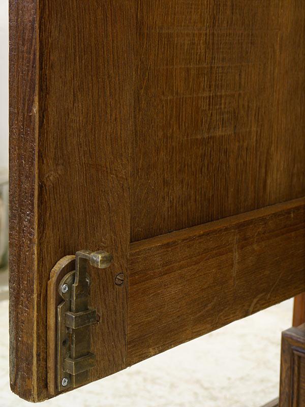 Detailansicht von dem Türriegel