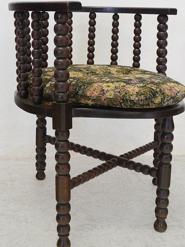 stuhl eckstuhl armlehnstuhl historismus um 1920 eiche massiv 8706 m bel sitzm bel st hle. Black Bedroom Furniture Sets. Home Design Ideas