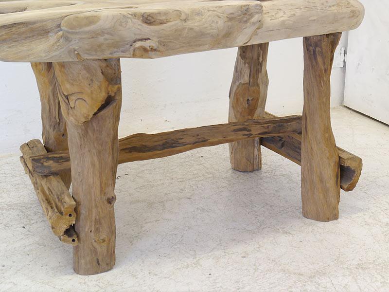 Untergestell des Tisches