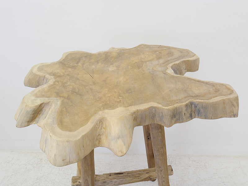 Detailansicht der Tischplatte
