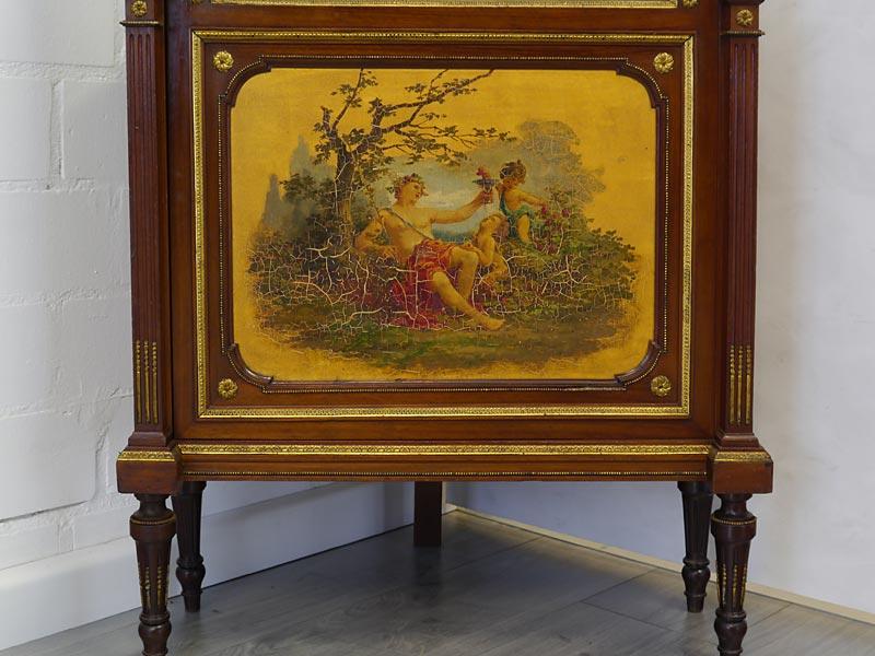 Gemälde mit altersbedingten Gebrauchsspuren