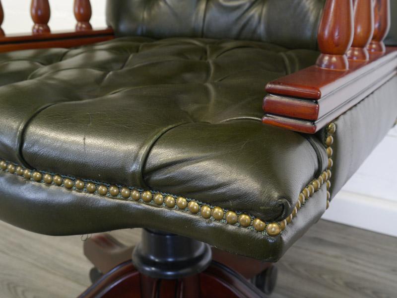 Nahaufnahme von der Sitzfläche