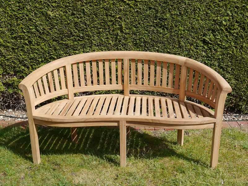 2-Sitzer Holzbank für den Garten