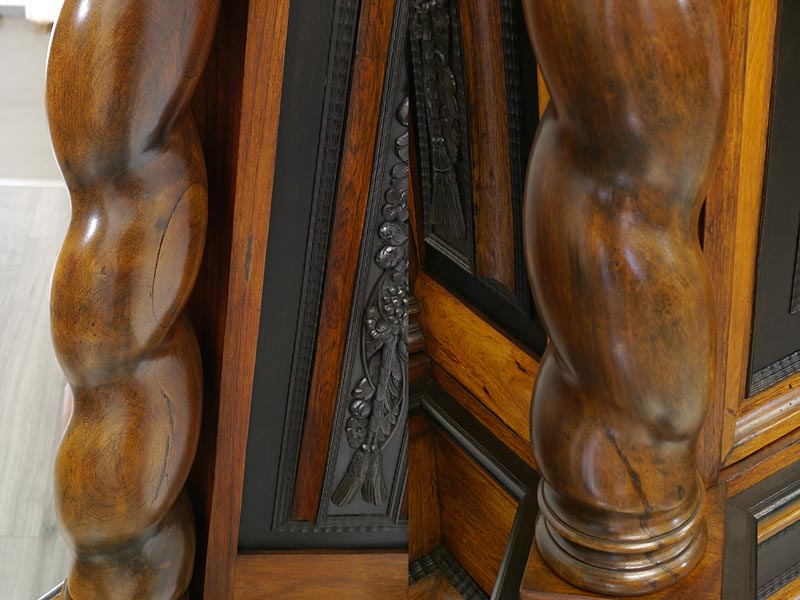 Detailfoto der Säulen