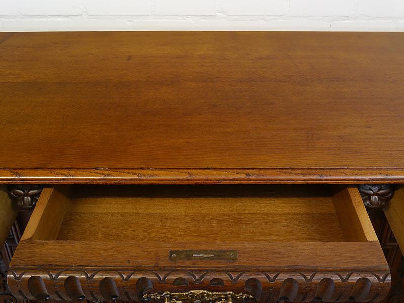 Deckplatte und innenbereich der Schublade