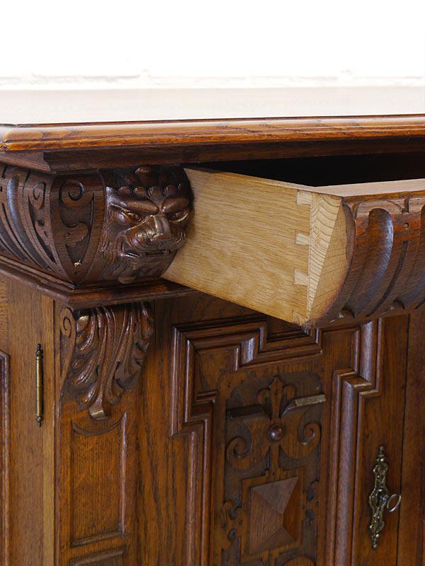 Detailansicht der Schublade