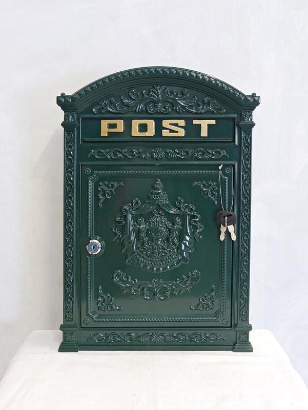 Briefkasten mit 2 Schlüssel