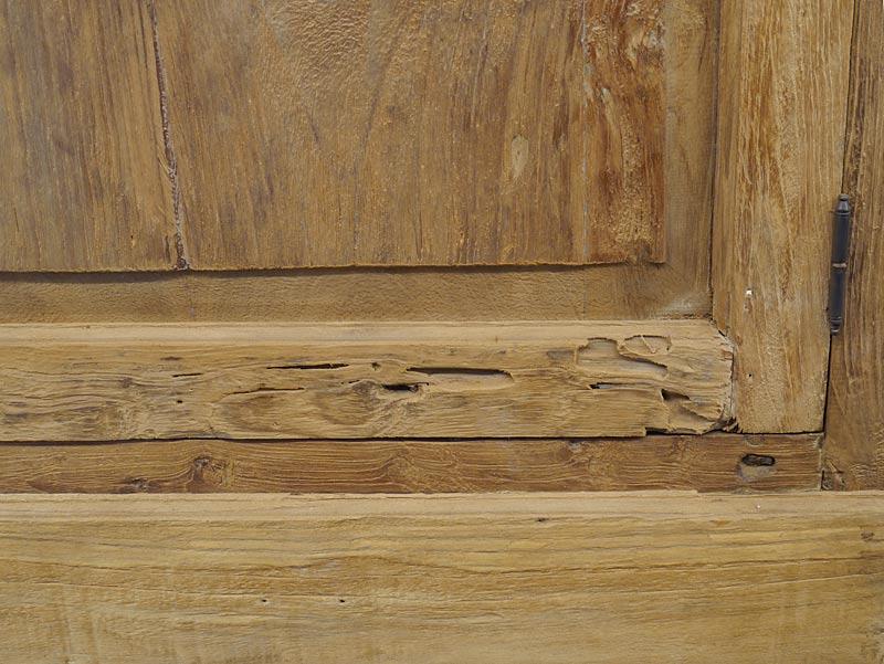 Detailansicht von dem Holz