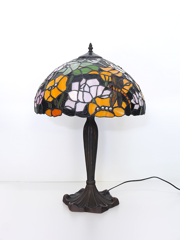 Tischlampe in Tiffany-Technik