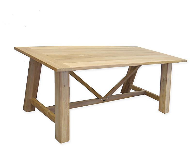 Gartentisch aus Teakholz massiv