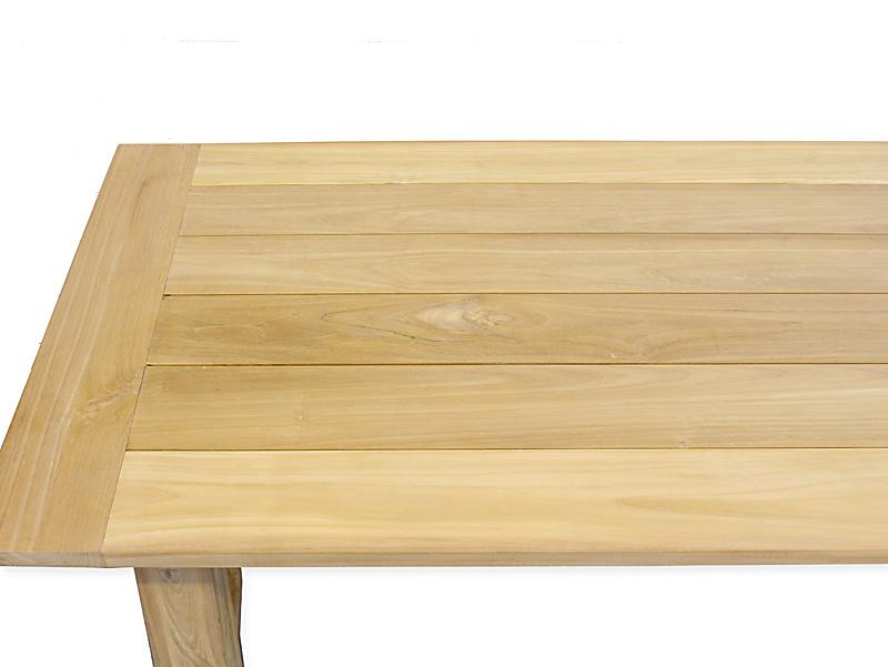 Detailansicht Tischplatte