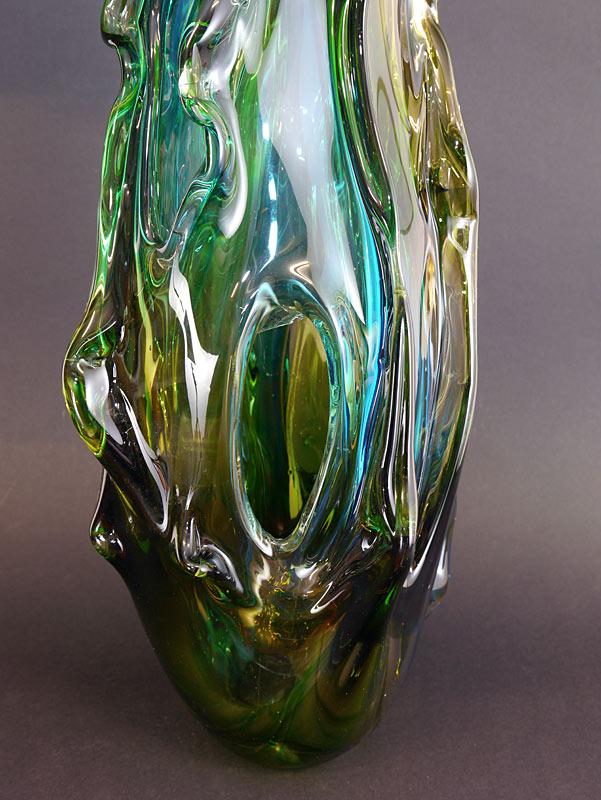 Detailansicht von der Vase
